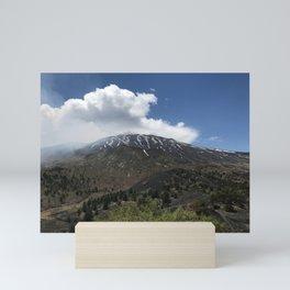 Mount Etna Mini Art Print