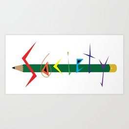 S6 Tee 2 Art Print