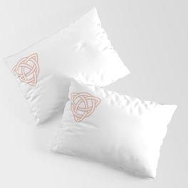 Triquetra or Celtic Knot Pillow Sham