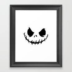 Evil Jack Framed Art Print