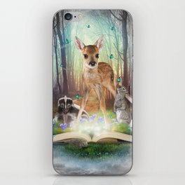 Believe In Magic • (Bambi Forest Friends Come to Life) iPhone Skin