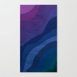 Deep, Cool Water Canvas Print