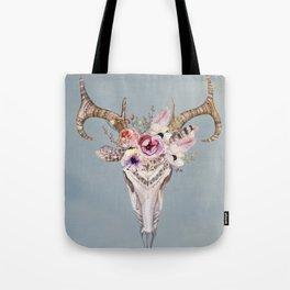 Deer Skull 2 Tote Bag
