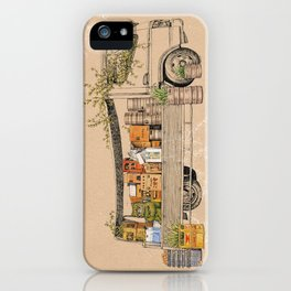 Green Invasion iPhone Case