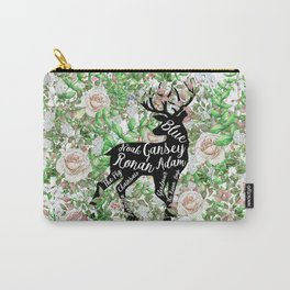 Raven Boys Names Carry-All Pouch