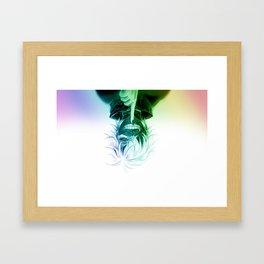 skull goul Framed Art Print