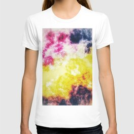 Watercolor effect digital art T-shirt