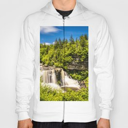 Blackwater Falls State Park West Virginia Waterfall Nature Landscape Photography Print Hoody