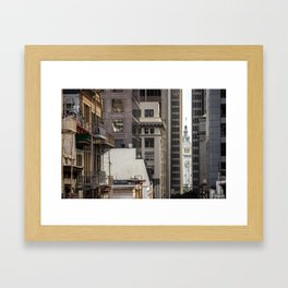 Embarcadero from Chinatown Framed Art Print