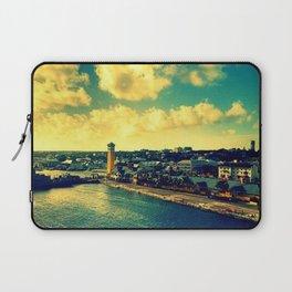 Nassau The Bahamas Laptop Sleeve