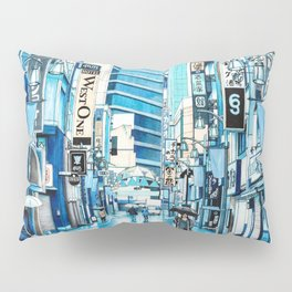 Rainy Day in Tokyo Pillow Sham