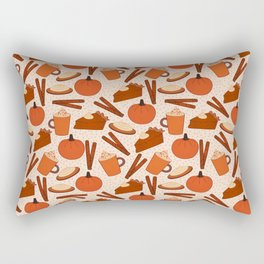 Pumpkin Fanatic Rectangular Pillow