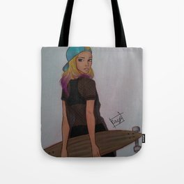 Sk8er Girl Tote Bag