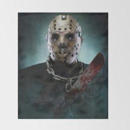 Jason Voorhees Throw Blanket