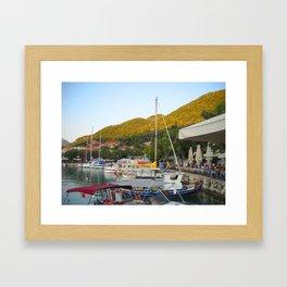 Ionian Sea. Greek Islands 1 Framed Art Print