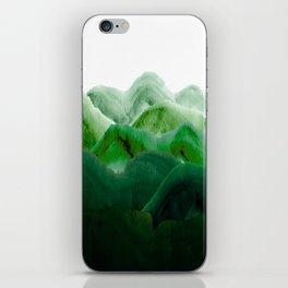 山秀谷 iPhone Skin
