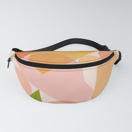 Abstraction_SHAPES_COLOR_Minimalism_002 Fanny Pack