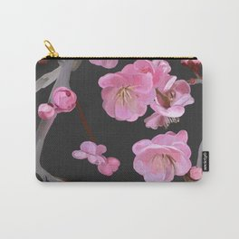 painted plum blossom black Carry-All Pouch