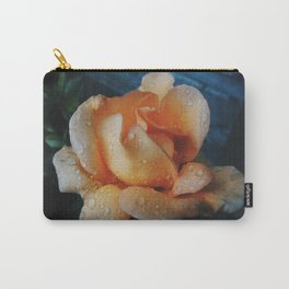 Coral Rose Carry-All Pouch