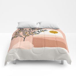 lemon tree Comforters