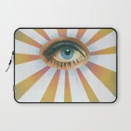 Vintage eye collage  Laptop Sleeve