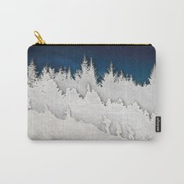 A Snowy Hike Carry-All Pouch