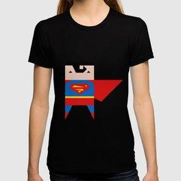 simpleheroes SUPERMAN fan art T-shirt
