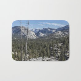 The North View Towards Tenaya Lake from Olmsted Point Bath Mat