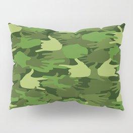 Handy Camo GREEN Pillow Sham