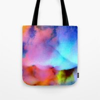 bed Tote Bags featuring Majestic Bed by Tyler Spangler