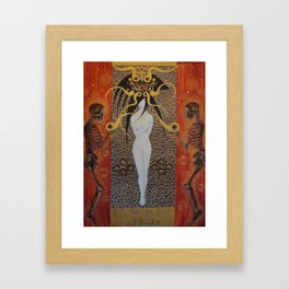 Ich Bin Im Tod Erbluht (In Death Have I Bloomed) Framed Art Print