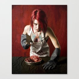butcheress Canvas Print