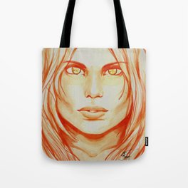 I Create Myself Tote Bag