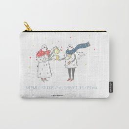 If i were a brid by Andsmile studios Carry-All Pouch