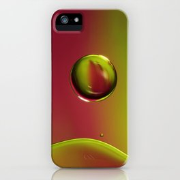 Raspberry with a Lime Twist iPhone Case