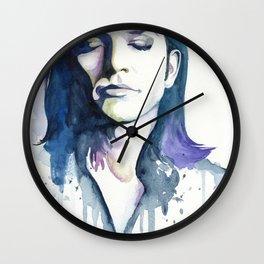 Brian Molko (Lilac) Wall Clock