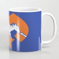 denver Mugs featuring Denver Donkeys   by The Monark