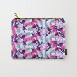 Rainbow Down Abstract Watercolor Painting Carry-All Pouch