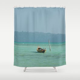 Afloat Shower Curtain