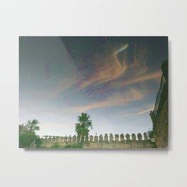 Flying sky fish Metal Print
