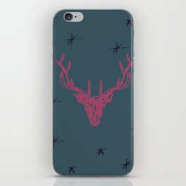 Sketched Stag iPhone Skin