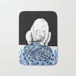 Polar freeze Bath Mat
