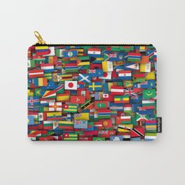 Flags of all countries of the world Carry-All Pouch