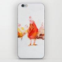 chicken iPhone & iPod Skins featuring Chicken by Ingo H. Klett