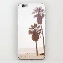 Vintage Summer Palm Trees iPhone Skin