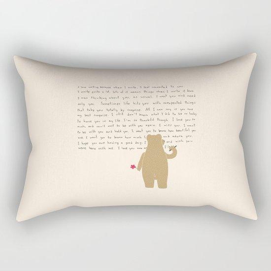 Writing Rectangular Pillow