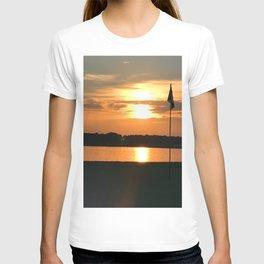 Bathe The Flag T-shirt