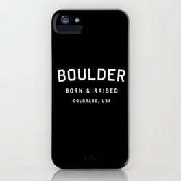 Boulder - CO, USA (Arc) iPhone Case