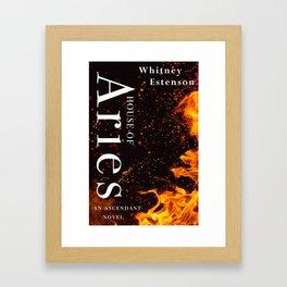 House of Aries Cover Framed Art Print