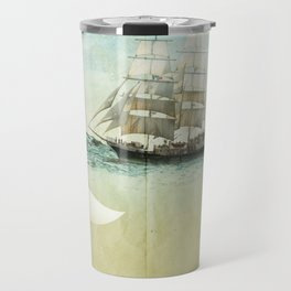 white tail, Moby Dick Travel Mug